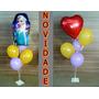 2 Suporte Para Balões,10 Varetas Para Bexigas Que Imitam Gás