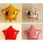 Balão Metalizado Inflavel Estrela Pacote Com 30 Estrelas