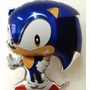 Balão Metalizado Sonic Pacote 18 Balões Com Varetas Completo