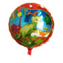 Kit C/ 10 Balão Metalizado Dinossauros - R$ 35,00