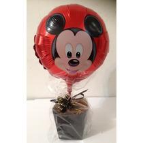 Balão Metalizado Bexiga Mickey Mouse Kit 10 Unidades
