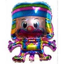 Balão Metalizado Palhaço Pacote Com 10 Balões - Super Lindo