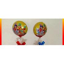 Balão Metalizado Patati Patata Centro Mesa 21cm - 5 Balões