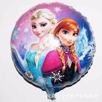 50 Balão Metalizado Frozen Elza Ana 45cm Festa Aniversário