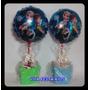 Balão Frozen, Enfeite De Mesa Kit Completo C/ 10 Unidades
