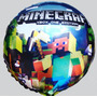 Balão Metalizado Bexiga Lego Minecraft (kit 10 Unid)