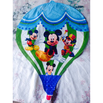 Balão Metalizado Mikey No Balão De Ar Quente