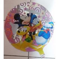 Balão Metalizado Mickey E Turma Da Disney Kit C/15 Unidades