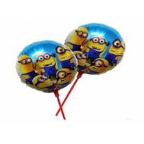 Balão De Mesa Minions Kit C10 Lembrancinha Festa Aniversário