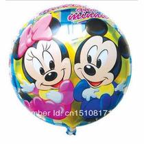 Balão Metalizado Mickey Baby Kit Com 10 Baloes