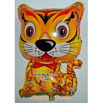 Balão Metalizado Animais, Safari, Floresta - Kit 25 Balões