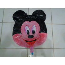 Balão Cabeça Mickey 60cm Kit C/05 Unidades Vazios