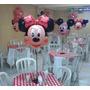 20 Minnie Mickey Balão Festa Decorativo Lembrancinha