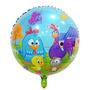 Balão Metalizado Bexiga Galinha Pintadinha (kit 10 Unid)