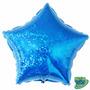 Balão Metalizado Estrela Holográfica 18 Aprox 49 Cm !