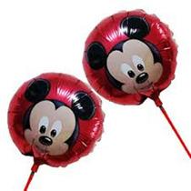 Kit C/ 10 Balão Centro De Mesa Mickey R$ 20,99