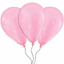 Balões São Roque N° 9 Rosa Tutti Frutti Com 50 Bexigas