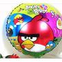 Balão Metalizado Angry Birds Kit Com 10 Baloes
