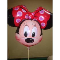 Balão Metalizado Mickey E Minnie Cabeção