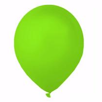 Balões São Roque N° 7 Verde Maçã Com 50 Bexigas
