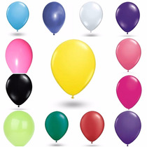 Kit 300 Balões / Bexigas Pic Pic N° 9 - Diversas Cores