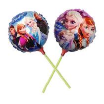 Balão Metalizado Frozen De Mesa 21cm