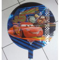 Balão Metalizado Carro Relampago Macquenn - Kit C/12 Balões