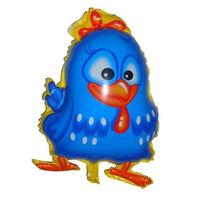 Balão Metalizado Galinha Pintadinha -10 Balões Frete Gratis