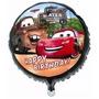 Balão Metalizado Carro Relampago Macquenn - Kit C/ 10 Balões