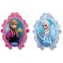 Balão Frozen C/ As Duas Princesas 71x57cm(kit C/ 12 Unds)