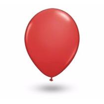 Balões São Roque N° 9 Vermelho Quente Com 200 Bexigas