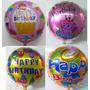 Balão Metalizado Feliz Aniversário - Super Barato