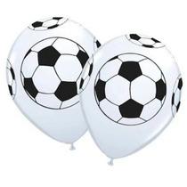 25 Balão Latex Banco De Bola De Futebol 11 R$ 24,99