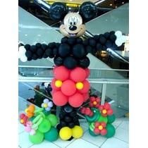 Balão Metalizado Cabeça Mickey Gigante 69x53cm Licenciado