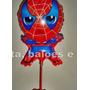 Balão P/ Enfeite De Mesa Homem Aranha Kit C/ 10 - R$ 27,99