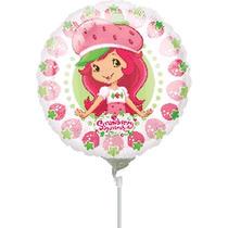 Balão Moranguinho Licenciado Centro De Mesa Tam. 22,5cm