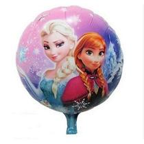 Balão Metalizado Frozen Ana E Elza - Kit 35 Balões - Barato
