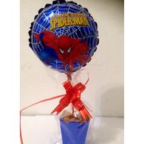 Balão Metalizado Homem Aranha Pacote 20 Centro De Mesa