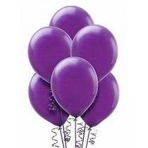 Balões São Roque N° 7 Roxo Uva Com 50 Bexigas