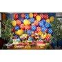 Balão Latex Nº9 Poá - Bexiga De Bolinha Para Festa Galinha