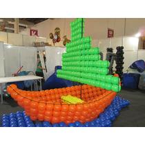 Tela Magica P/balões Preta 4 E 16 Cavidades Brinde 1 Medidor