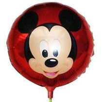 Balão Metalizado Mickey Centro De Mesa (kit C/ 20 Balões)