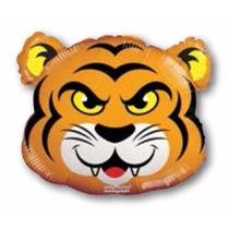 Balão Metalizado Tigre Animais 35cm_centro De Mesa