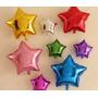 Balão Metalizado Estrelas Enfeite De Mesa Tam:21cm Kit/20 Un