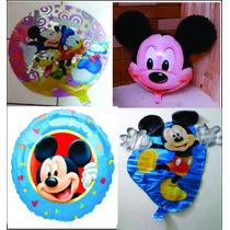 Kit C/ 20 Balão Metalizados Mickey R$ 56,00