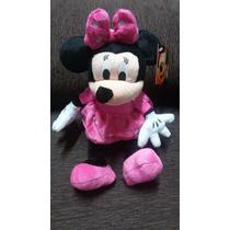 Minnie De Pelúcia Rosa P/ Decoração!!! - R$ 29,99