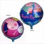 Balão Metalizado Peppa Pig- Kit Com 10 Baloes Frete Gratis