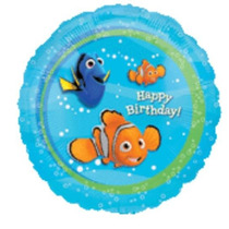 Balão Metalizado Nemo Tam. 18p 45cm