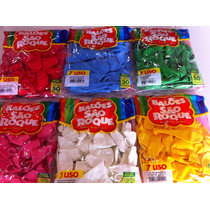 Balão São Roque Nº07 Pacotes Com 50 Unidades