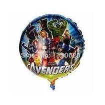 10 Balões Metalizados Vingadores,festa,aniversario,infantil